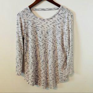 Ann Taylor LOFT Grey Sweatshirt Size XS